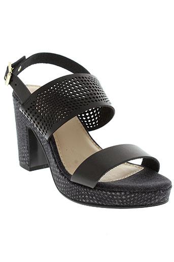 coco et et et abricot sandales et nu et pieds femme de couleur noir