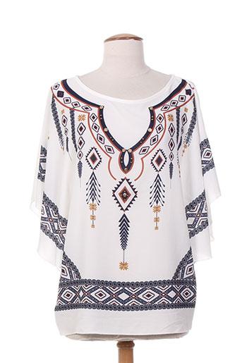 artigli t-shirts / tops femme de couleur blanc