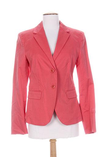 maxmara vestes femme de couleur rouge