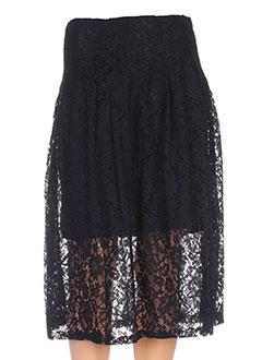 Jupe mi-longue noir BY MONSHOWROOM pour femme