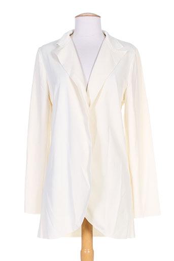 by monshowroom vestes femme de couleur beige