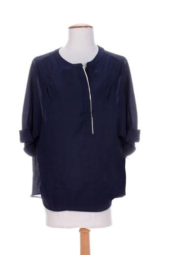 by monshowroom chemises femme de couleur bleu