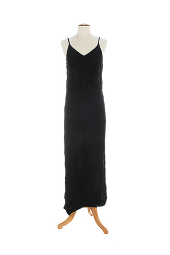 by monshowroom robes femme de couleur noir