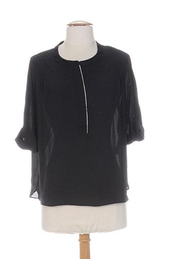 by monshowroom chemises femme de couleur noir