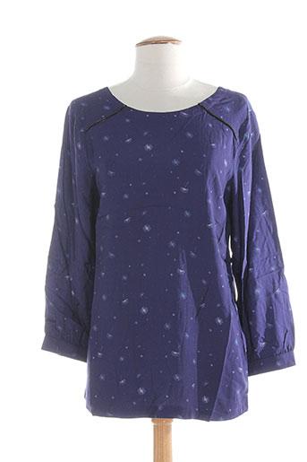 clo&se chemises femme de couleur violet