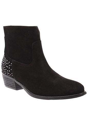 clo et se boots femme de couleur noir