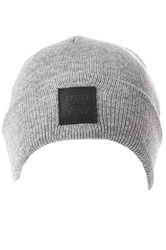 edwin chapeaux et bonnets femme de couleur gris