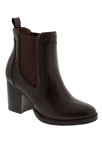 lieberskind boots femme de couleur marron