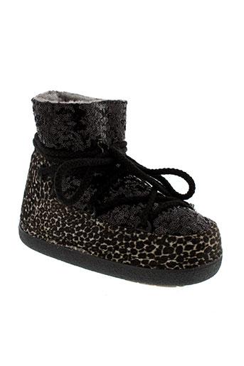 ikkii boots femme de couleur noir