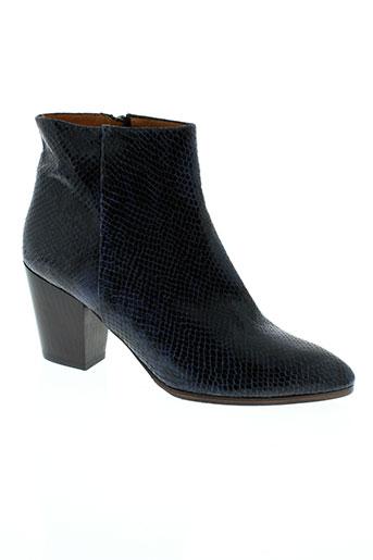 emma et go boots femme de couleur bleu