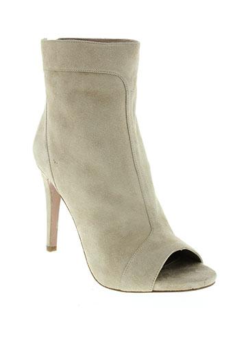hoss chaussures femme de couleur beige