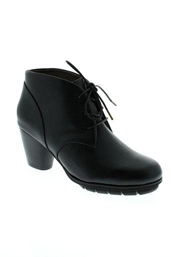 esska chaussures femme de couleur noir