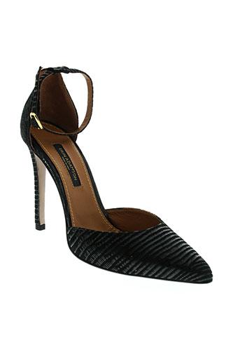 erin adamson chaussures femme de couleur noir