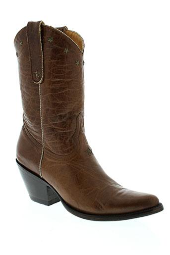 mexicana chaussures femme de couleur marron
