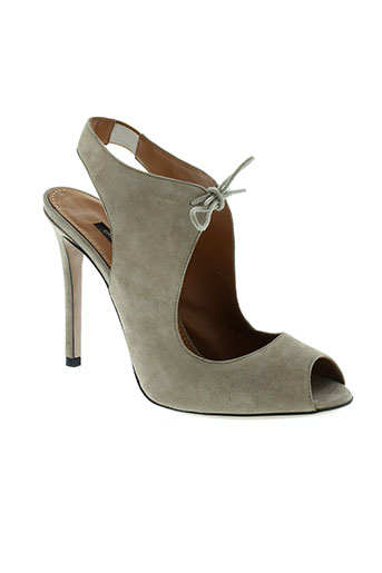 erin et adamson sandales et nu et pieds femme de couleur beige