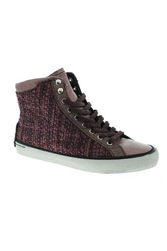 crime chaussures femme de couleur violet