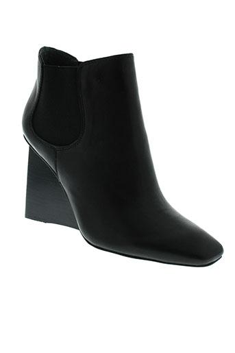 jeffrey et campbell boots femme de couleur noir