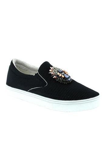 manoush chaussures femme de couleur bleu