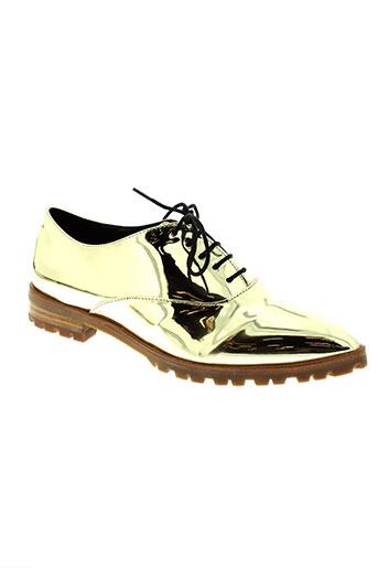 chocolate schubar chaussures femme de couleur jaune