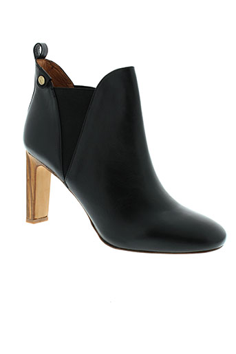 chocolate et schubar boots femme de couleur noir