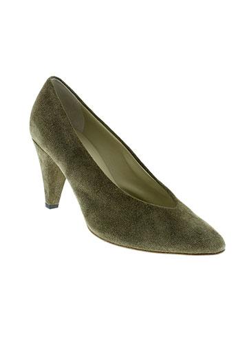 anniel chaussures femme de couleur vert