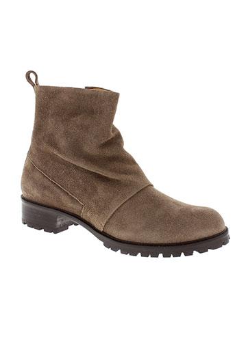 coclico boots femme de couleur marron