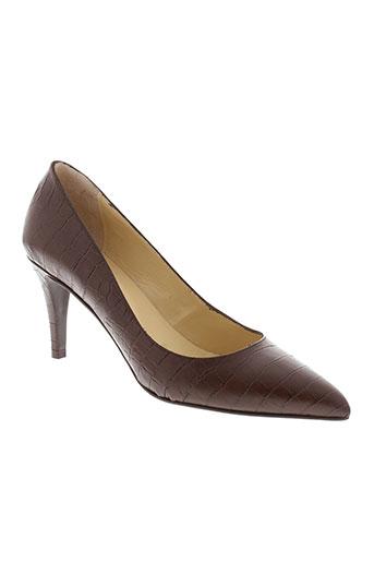 jonak chaussures femme de couleur marron