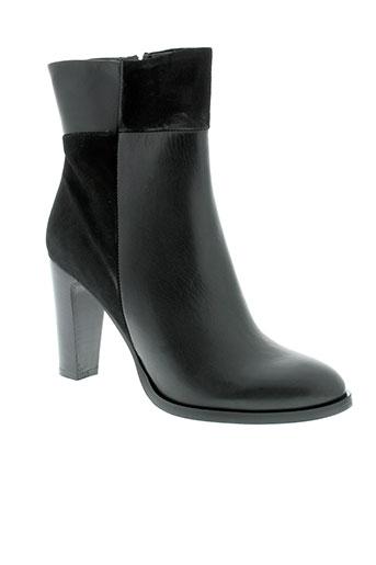 eden boots femme de couleur noir