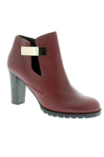 see et by et chloe boots femme de couleur rouge