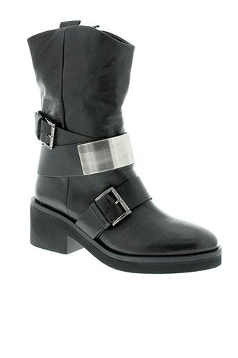 vic et matie boots femme de couleur noir