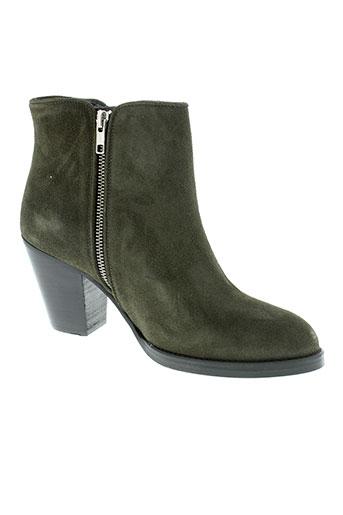 jonak boots femme de couleur marron