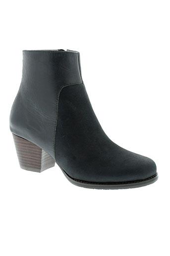 esska chaussures femme de couleur bleu