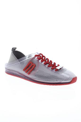 melissa chaussures femme de couleur gris
