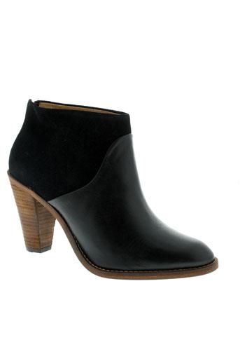 sessun chaussures femme de couleur noir