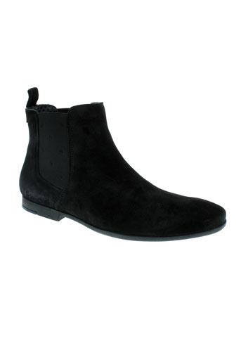 paul et joe boots homme de couleur noir