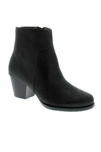 esska boots femme de couleur noir