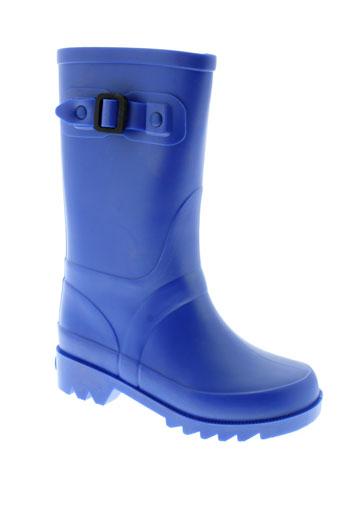 igor chaussures fille de couleur bleu
