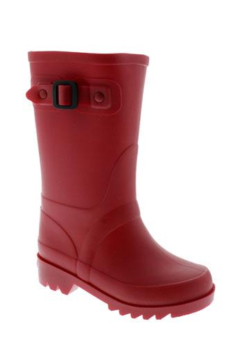 igor bottes fille de couleur rouge