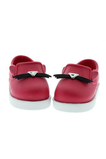 melissa chaussures fille de couleur rose