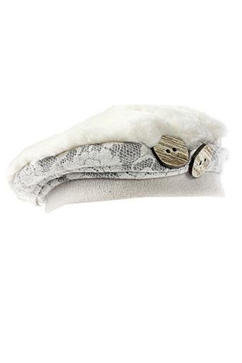 ganteb's accessoires femme de couleur blanc
