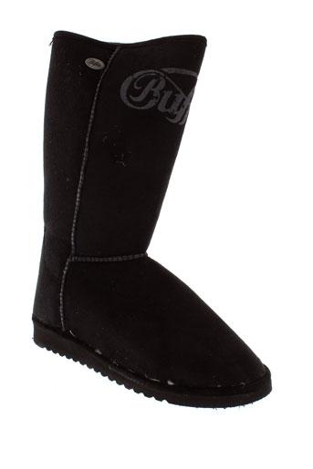 buffalo boots femme de couleur noir