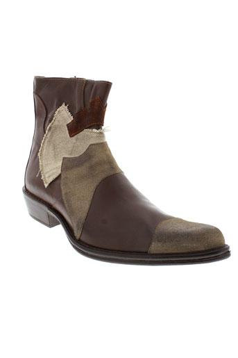 moshion boots homme de couleur marron