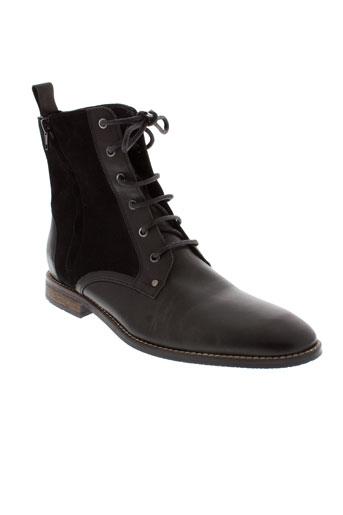 whooz boots homme de couleur noir