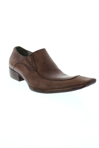 bunker mocassins homme de couleur marron