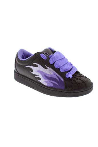 buffalo baskets femme de couleur violet
