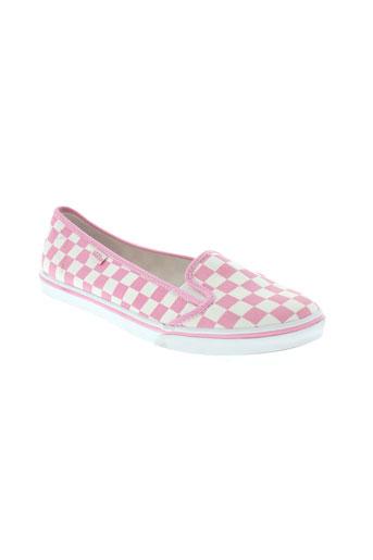 vans baskets femme de couleur rose