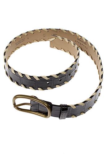 chambord ceintures femme de couleur noir