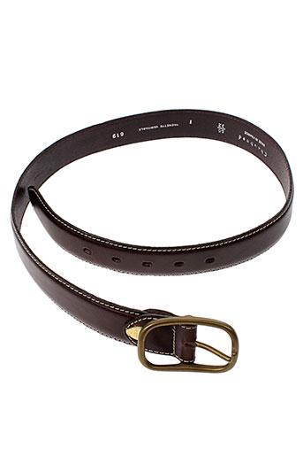 chambord ceintures femme de couleur marron