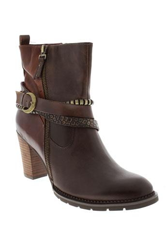 laura et vita boots femme de couleur marron