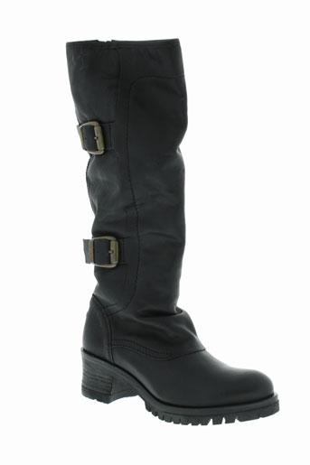 goldmud bottes femme de couleur noir